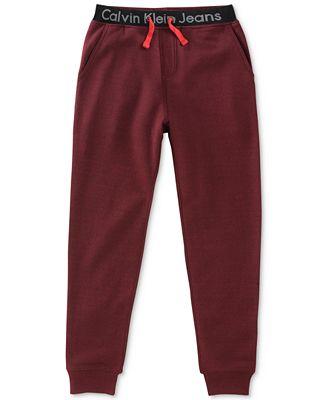 Calvin Klein Jogger Pants, Big Boys