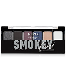 NYX Professional Makeup Smokey Fume Shadow Palette