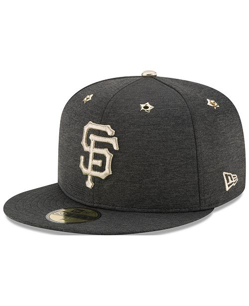 designer fashion 77847 090f4 ... New Era San Francisco Giants 2017 All Star Game Patch 59FIFTY Fitted Cap  ...