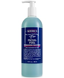 Kiehl's Since 1851 Facial Fuel Energizing Face Wash, 16.9-oz.
