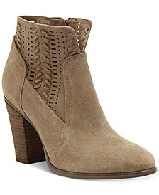 Vince Camuto Fenyia Woven Ankle Booties