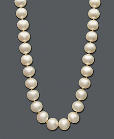Belle de Mer Cultured Freshwater Pearl Strand Necklace (10-1/2-11-1/2mm) in 14k Gold