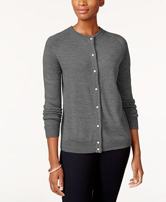 Karen Scott Petite Cardigan Created For Macys Sweaters Petites