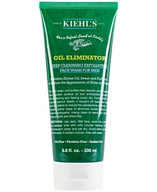 Oil Eliminator Deep Cleansing Exfoliating Face Wash For Men, 6.8-oz.