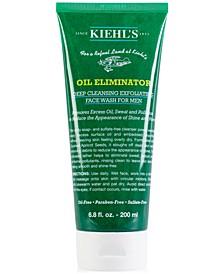 Oil Eliminator Deep Cleansing Exfoliating Face Wash For Men, 6.8-oz.