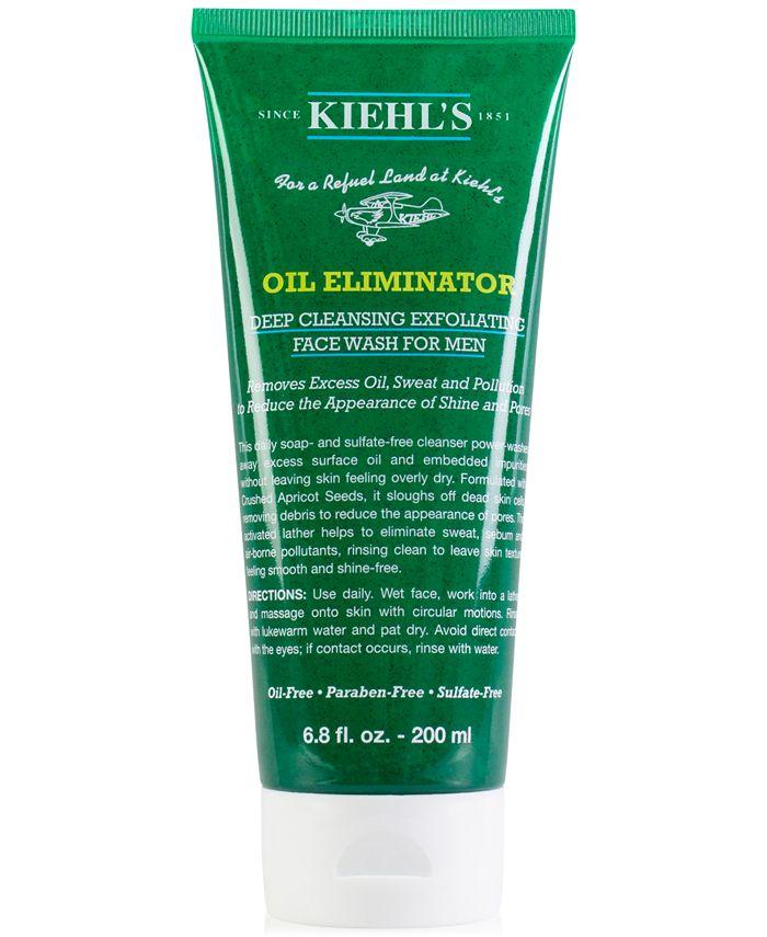 Kiehl's Since 1851 - Oil Eliminator Deep Cleansing Exfoliating Face Wash For Men, 6.8-oz.