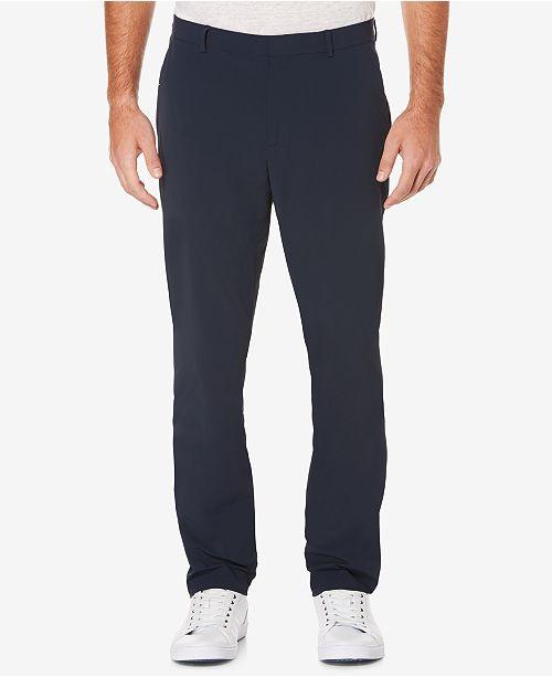 Perry Ellis Men's Tall Slim-Fit Stretch Tech Pants