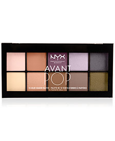 NYX Professional Makeup Avant Pop Nouveau Chic Eye Shadow Palette