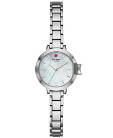 kate spade new york Women's Park Row Stainless Steel Bracelet Watch 24mm KSW1362
