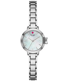 a818e9091de kate spade new york Women s Park Row Stainless Steel Bracelet Watch 24mm  KSW1362