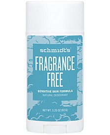 Deodorant Fragrance Free Sensitive Skin Deodorant Stick