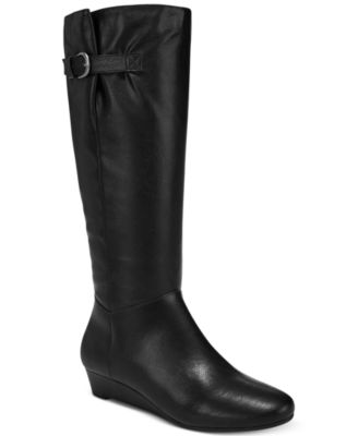 Image of Style & Co Rainne Wedge Tall Boots, Created for Macy's