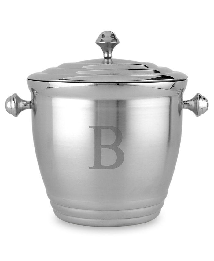 Lenox - Tuscany Monogram Block Letter Ice Bucket