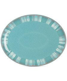 Denby Dinnerware, Azure Coastal Oval Platter