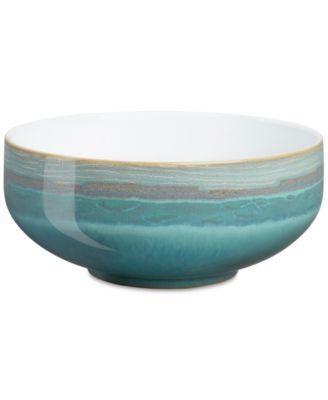 main image ...  sc 1 st  Macyu0027s & Denby Dinnerware Azure Patterned Cereal Bowl - Dinnerware - Dining ...