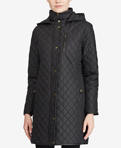 Lauren Ralph Lauren Quilted Jacket, A Macy's Exclusive - Coats ... : ralph lauren quilted blazer - Adamdwight.com