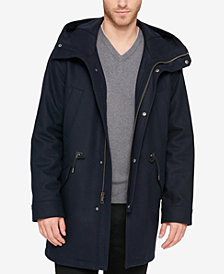 Cole Haan Men's Insulated Anorak Coat