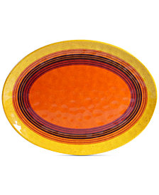 Certified International Sedona Melamine Oval Platter