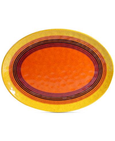 Certified International Sedona Melamine Oval Platter