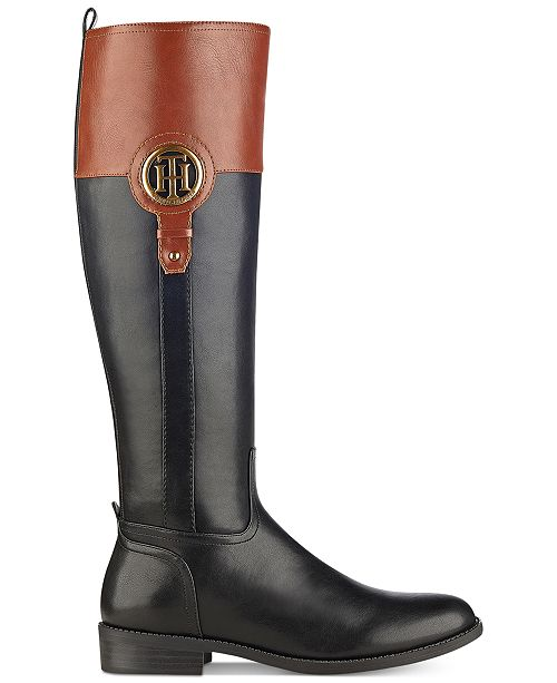 6c2ae706bba9cb ... Tommy Hilfiger Ilia Riding Boots