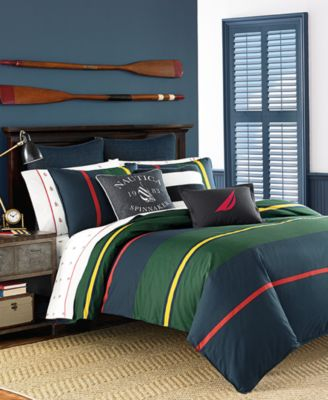 For Timeless Style And Superior Comfort, Choose The Extra Soft Combed  Cotton And Crisp Stripes Of This Heritage Classic Bedding Collection From  Nautica.
