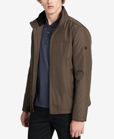 Calvin Klein Men's Lightweight Stand-Collar Jacket