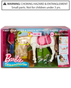 Mattels Barbie Dream Horse Doll