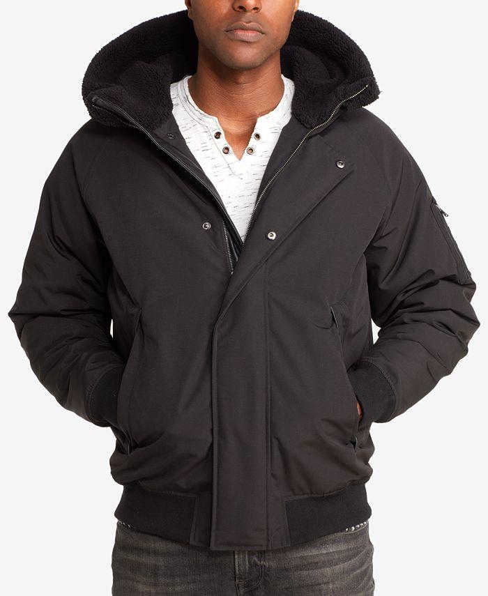 Sean John - Men's Hooded Bomber Jacket