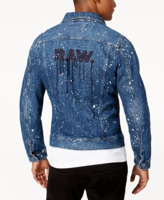 G star raw mens denim jacket