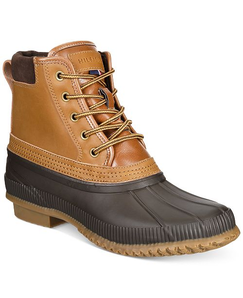 78ad8528e57e5e ... Tommy Hilfiger Men s Casey Waterproof Duck Boots Created for Macy s ...