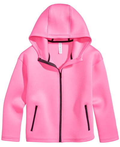 Ideology Hooded Jacket, Toddler Girls (2T-5T), Created for Macy's ...