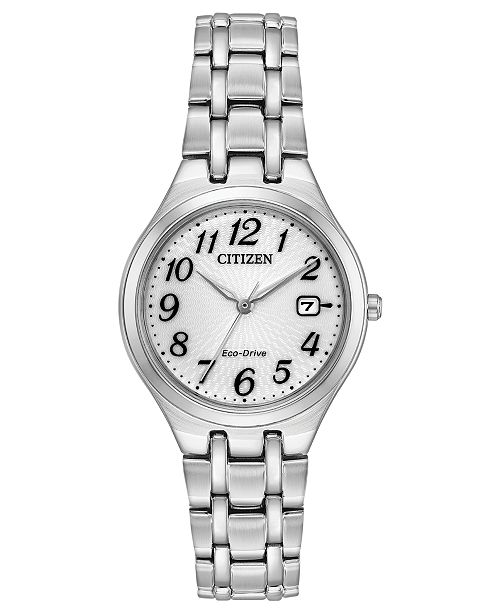 Citizen Eco-Drive Women's Stainless Steel Bracelet Watch 28mm