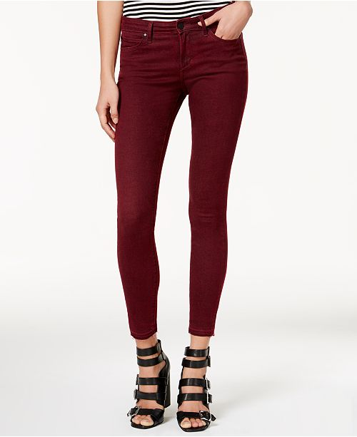 57137cd87946 ... Articles of Society Sarah Ankle Skinny Released-Hem Jeans ...