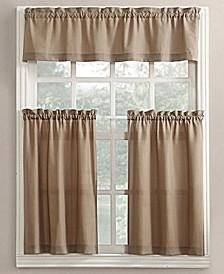 Martine 3-Piece Kitchen Curtain Set