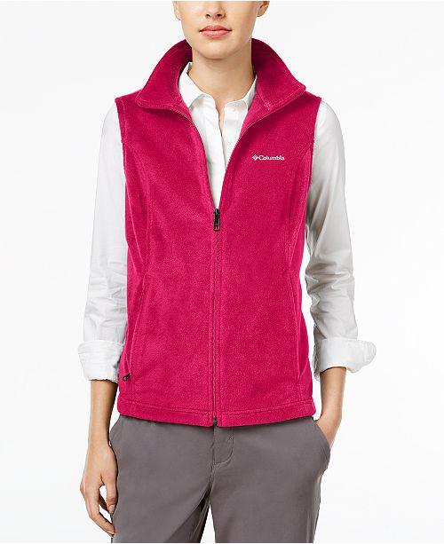 5c797b87 Columbia Benton Springs Fleece Vest & Reviews - Jackets & Blazers ...