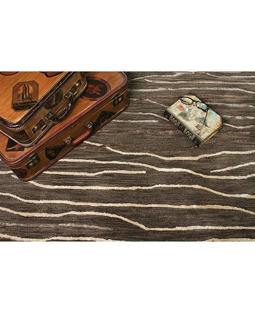 Kenneth Mink Waves 8 6 Quot X 11 6 Quot Area Rug Created For Macy
