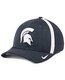 Nike Michigan State Spartans Aerobill Classic Sideline Swoosh Flex Cap
