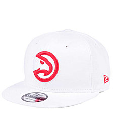 New Era Atlanta Hawks Solid Alternate 9FIFTY Snapback Cap