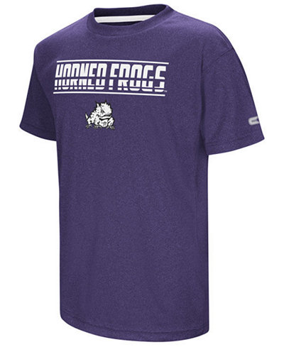 Colosseum TCU Horned Frogs Head Start T-Shirt, Big Boys (8-20)