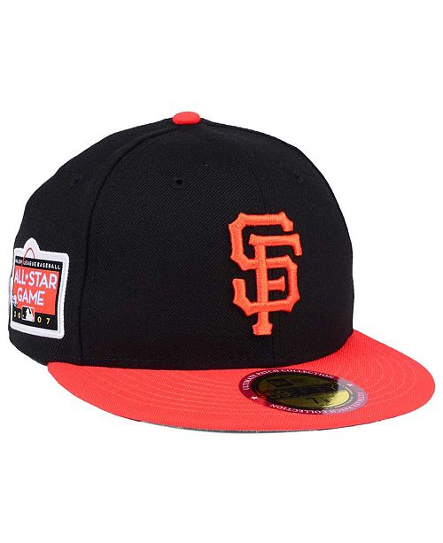 pretty nice bb063 7b14e ... New Era San Francisco Giants Ultimate Patch All Star Collection 59FIFTY  Fitted Cap ...