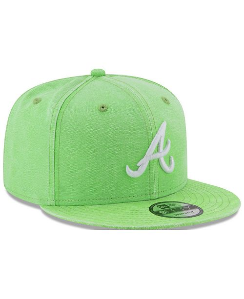 the latest 9f9b6 ecfe2 New Era. Atlanta Braves Neon Time 9FIFTY Snapback Cap