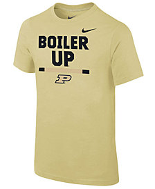 Nike Purdue Boilermakers Local Verbiage T-Shirt, Big Boys (8-20)