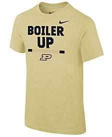 Nike Purdue Boilermakers Local Verbiage T-Shirt, Big Boys (8-20)