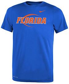 Nike Florida Gators Legend Icon Football T-Shirt, Big Boys (8-20)