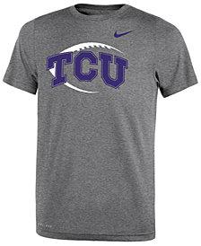 Nike TCU Horned Frogs Legend Icon Football T-Shirt, Big Boys (8-20)