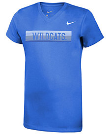 Nike Girls' Kentucky Wildcats Legend V-Neck Mascot T-Shirt