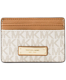 MICHAEL Michael Kors Signature Card Holder