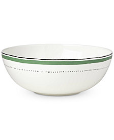 kate spade new york Union Square Green Serving Bowl