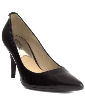 designers like michael kors jc30  MICHAEL Michael Kors MK Flex Mid Pointed-Toe Pumps