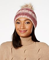 INC International Concepts Metallic Space-Dyed Beanie, Created for Macy's